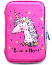 Load image into Gallery viewer, Unicorn Pencil Case For Girls | Cute and Lightweight Pen Holder Perfect for Preschool, Kindergarten and Elementary