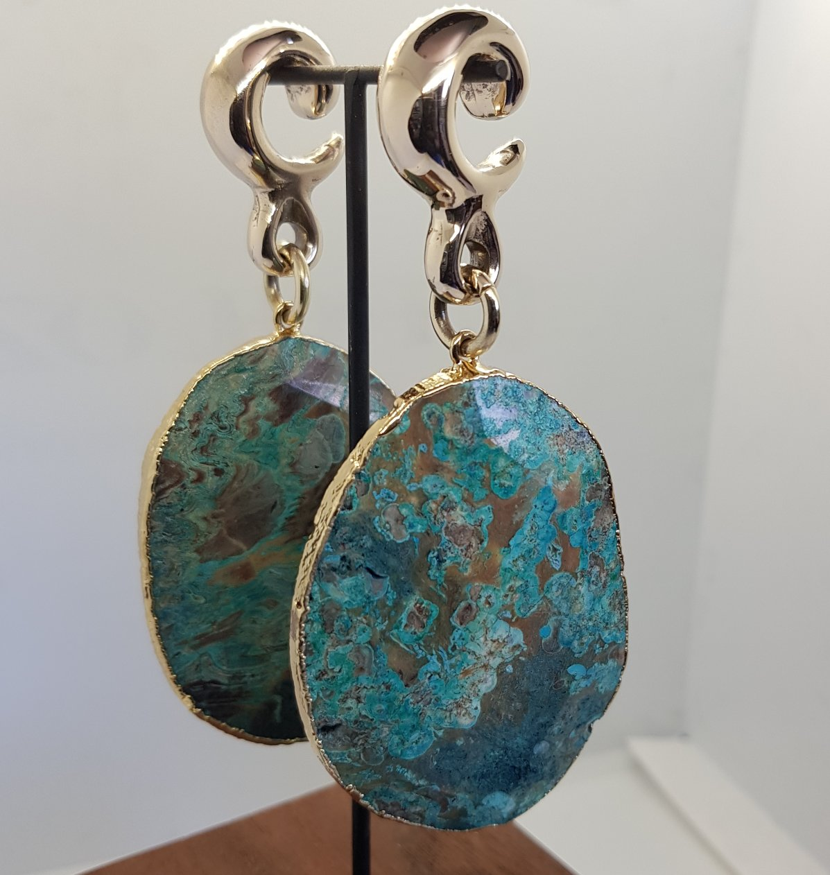 Hanging Weights - Chrysocolla