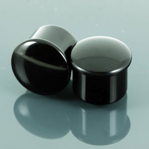Delrin Single flare plugs | Pair jewellery, body jewellery. - 2