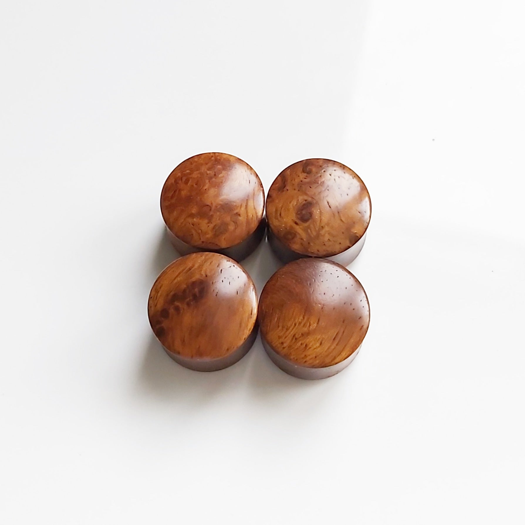 "Amboyna Burl Plugs - 16mm (5/8"")"