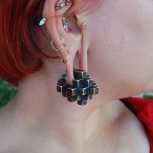 Large Cube Ear Weights PREORDER  - 5