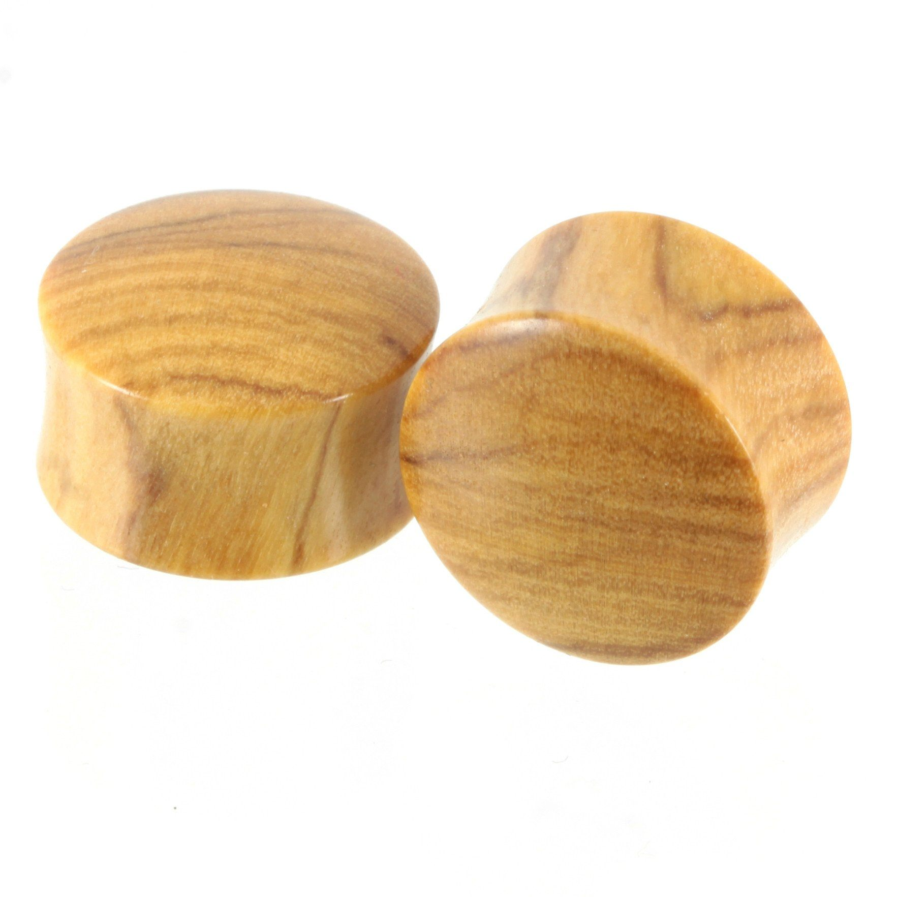 Olivewood Plugs, jewellery, body jewellery. - Southshore Adornments