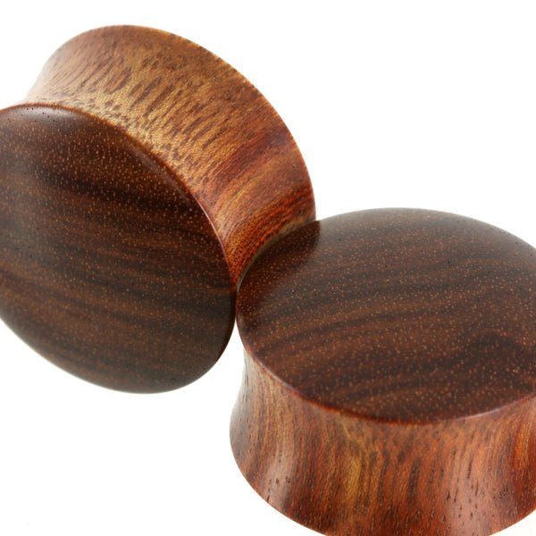 Bloodwood Plugs, jewellery, body jewellery. - Southshore Adornments
