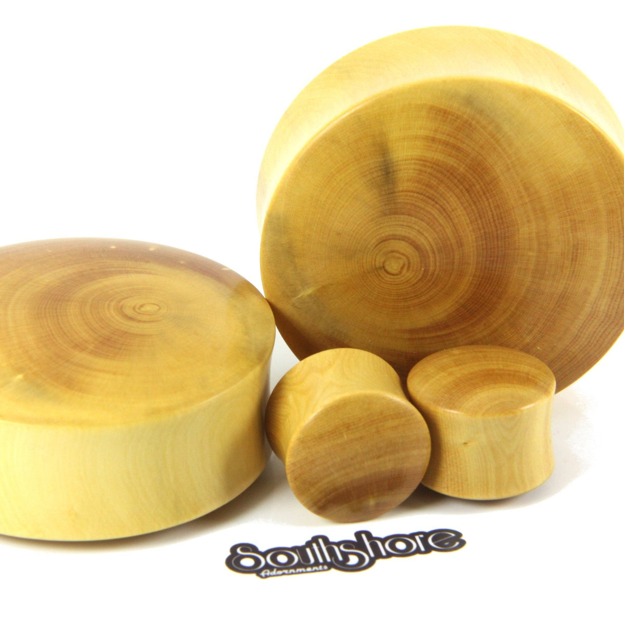 English Boxwood Plugs, jewellery, body jewellery. - Southshore Adornments