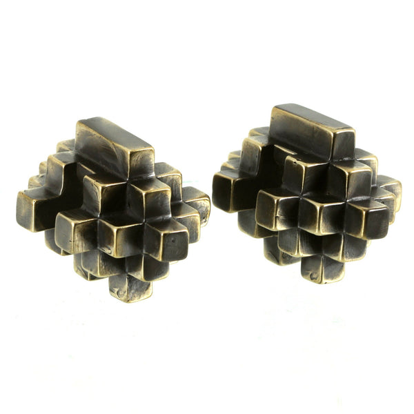 Large Cube Ear Weights