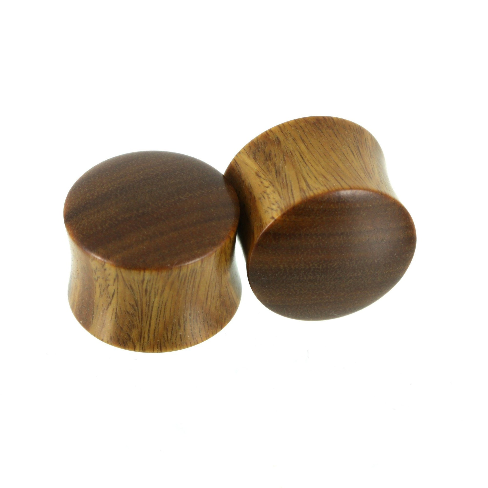 Argentine Lignum Vitae Plugs, jewellery, body jewellery. - Southshore Adornments