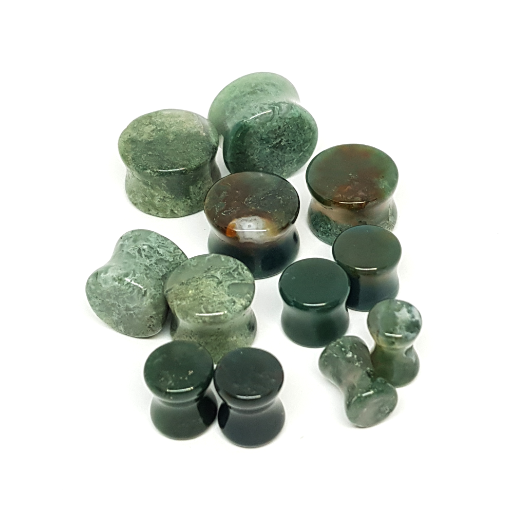 Mossagate Plugs