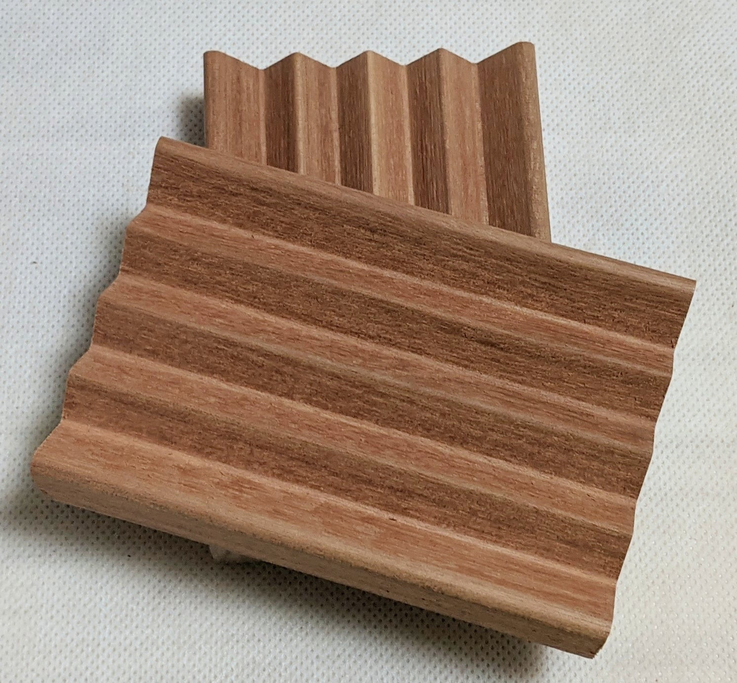 Handcrafted Exotic Wood Soap Dish