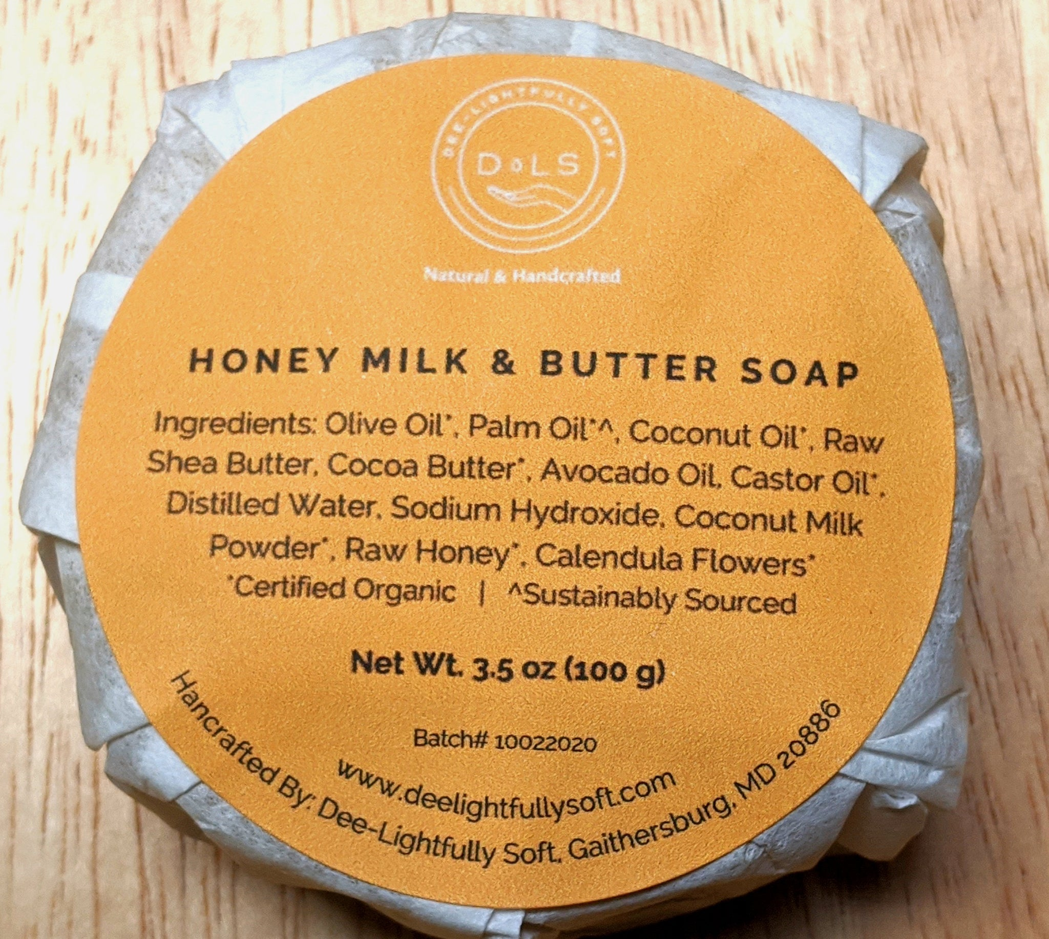 Face/Body Soap - Honey Milk & Butter