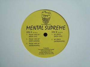 "Mental Supreme ‎– Talkin' Mad Shit / No Stress (12"")"