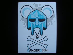 Dangerdoom Sticker