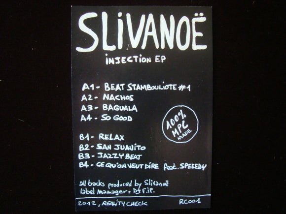 Slivanoë ‎– Injection EP Sticker