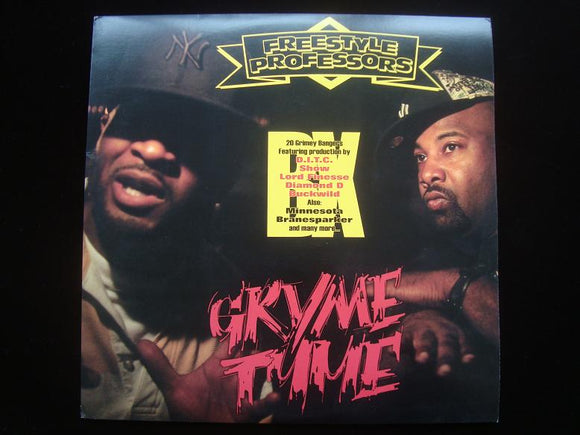 Freestyle Professors ‎– Gryme Tyme (2LP)