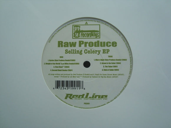 Raw Produce ‎– Selling Celery (EP)