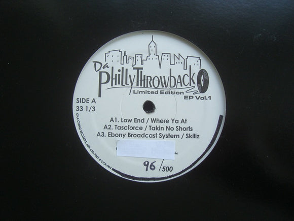 Da Philly Throwback EP Vol.1 (EP)