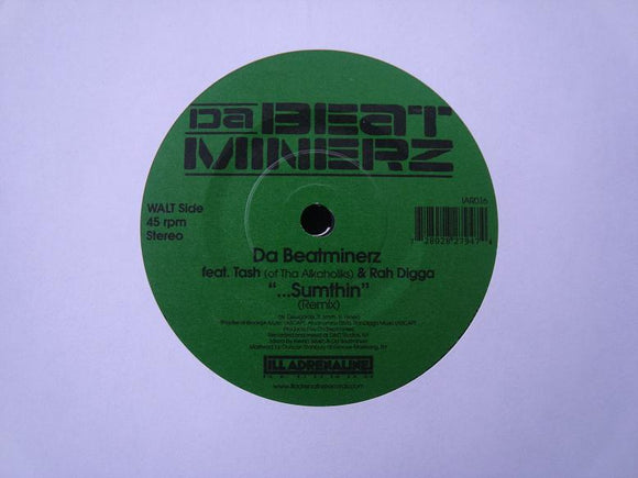 Da Beatminerz ‎– Sumthin' (Rmx) / Another World (Rmx 2) (7