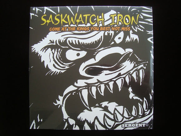 Saskwatch Iron ‎– Come At The Kings, You Best Not Miss 2LP