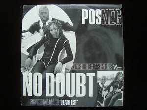 "Pos Neg ‎– No Doubt / Death List (12"")"
