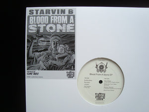 Starvin B ‎– Blood From A Stone (EP)