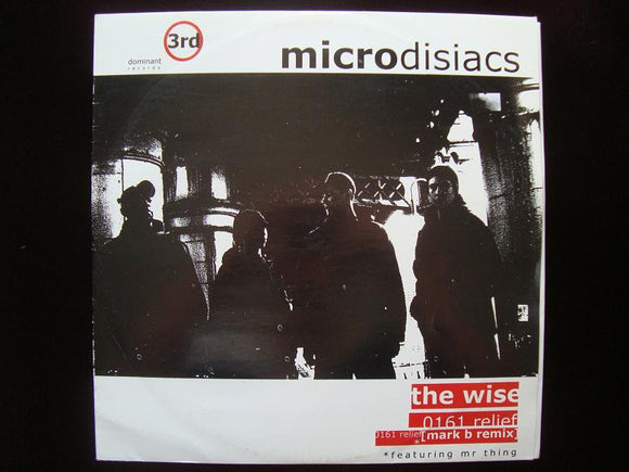 Microdisiacs ‎– The Wise - 0161 Relief (12