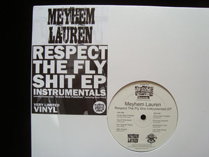 Meyhem Lauren ‎– Respect The Fly Shit Instrumentals (EP)