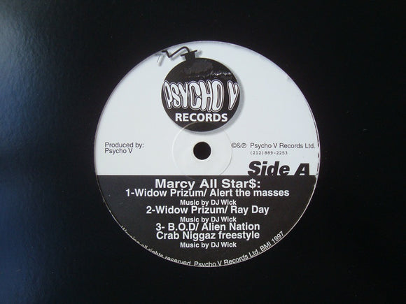 Marcy All Star$ - B.O.D. Click ‎(12