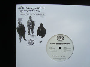 Endangered Elements ‎– Heightz Of Elevation 93-94 (EP)