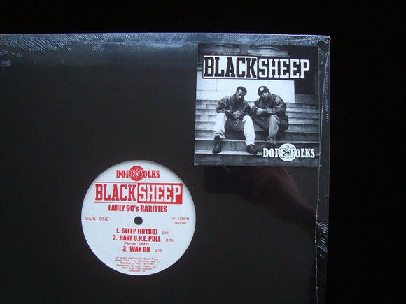Black Sheep ‎– Early 90's Rarities (EP)