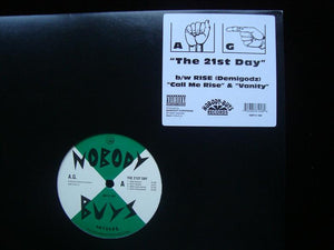 "AG - Rise ‎– The 21st Day / Call Me Rise / Vanity (12"")"