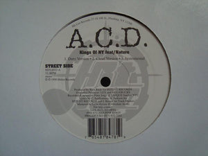 "A.C.D. - Kings Of NY / Swerving (12"")"