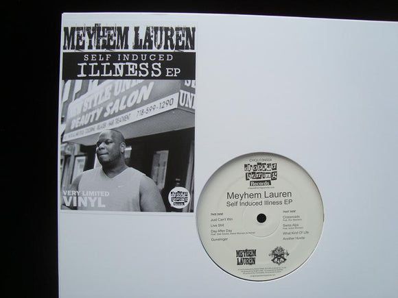 Meyhem Lauren ‎– Self Induced Illness (EP)