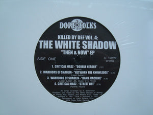 The White Shadow - Then & Now (EP)