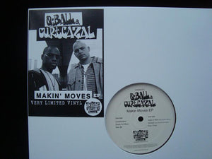 Q Ball & Curt Cazal ‎– Makin Moves (EP)