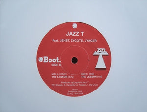 "Jazz T ‎– The Lesson (7"")"