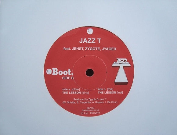 Jazz T ‎– The Lesson (7