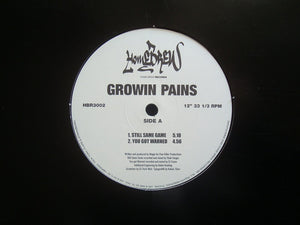 "Growin Pains ‎– Still Same Game (12"")"