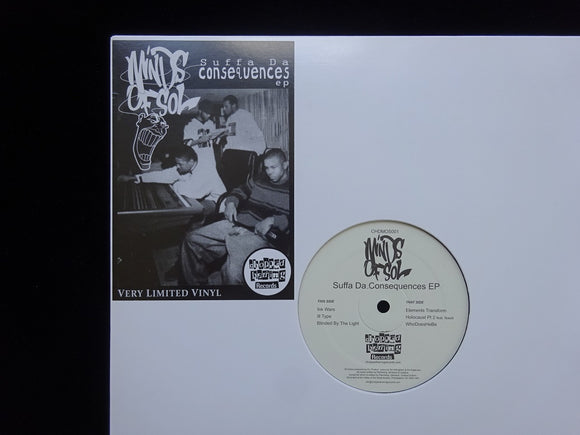 Minds Of Sol ‎– Suffa Da Consequences (EP)