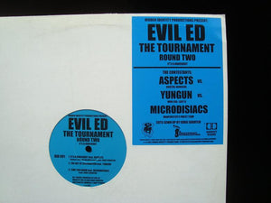 "Evil Ed ‎– The Tournament Round 2 (12"")"