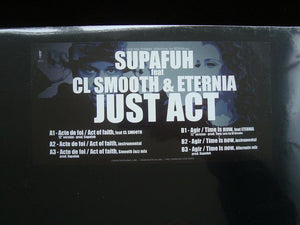 "Supafuh ‎– Just Act (12"")"