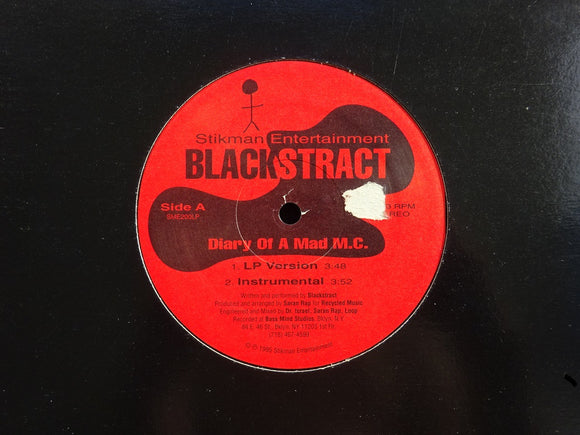 Blackstract ‎– Diary Of A Mad MC (12