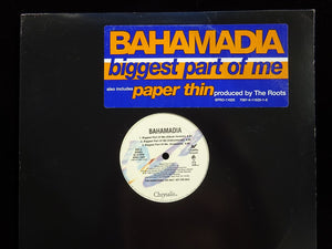 "Bahamadia ‎– Biggest Part Of Me / Paper Thin (12"")"