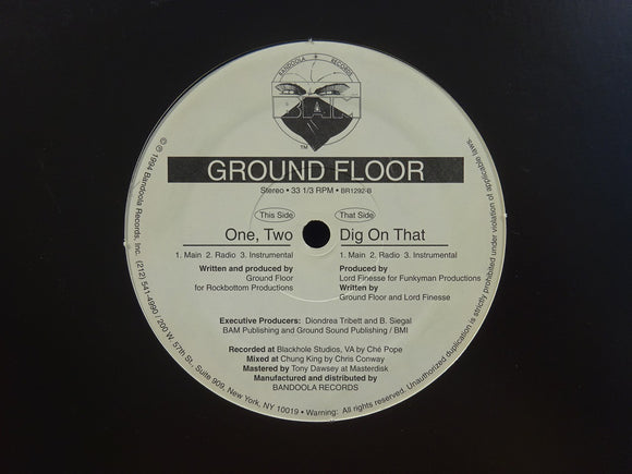 Ground Floor ‎– One, Two / Dig On That (12