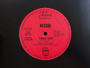 "KGB ‎– Yeah You / Heads On (12"")"
