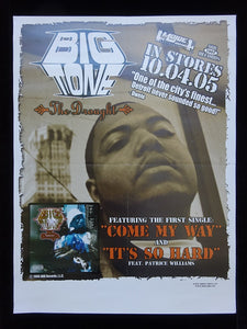 Big Tone - The Drought Release Poster
