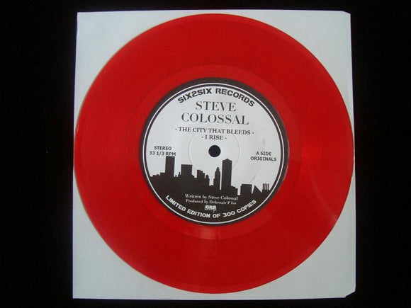 Steve Colossal – The City That Bleeds (7