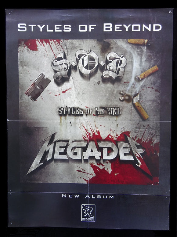 Styles Of Beyond - Megadef Release Poster