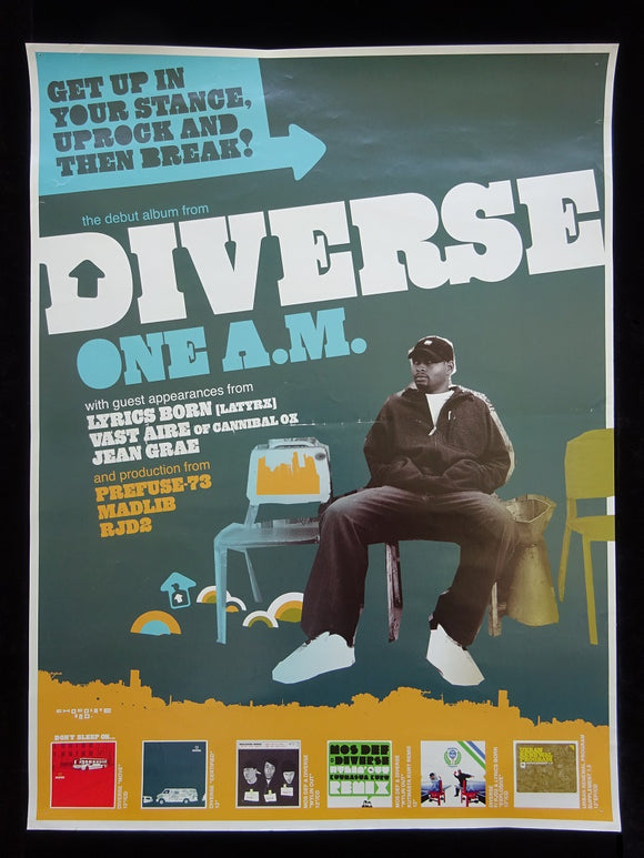 Diverse - One A.M. Release Poster