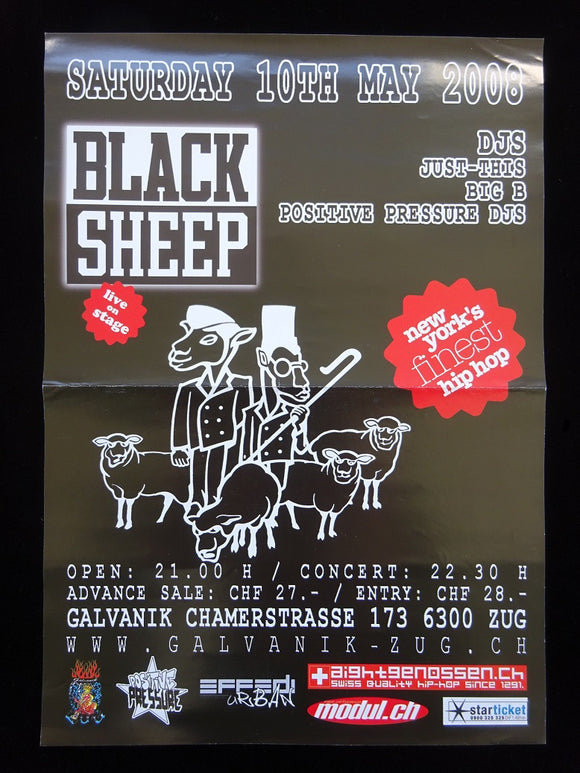 Black Sheep Show Poster