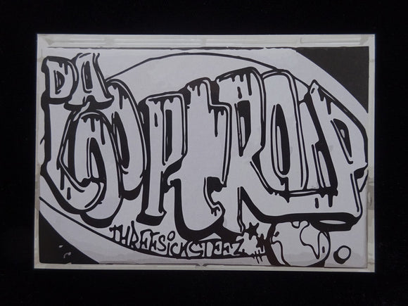 Da Looptroop ‎– Threesicksteez LP Sticker
