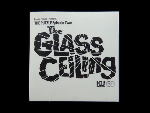 Lewis Parker ‎– The Puzzle Episode Two: The Glass Ceiling Release Sticker